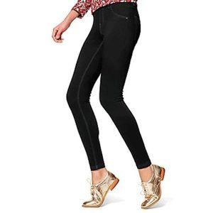 Hue Essential Denim Leggings Black Size Small